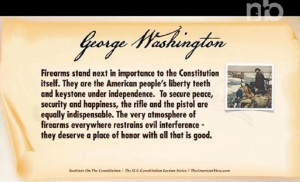 ... the Constitution Uses Fake George Washington Quote on Second Amendment