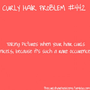 Curly Hair Problems Quotes