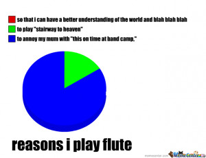 The Reasons I Play Flute