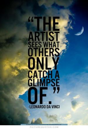 Art Quotes Artist Quotes Leonardo Da Vinci Quotes