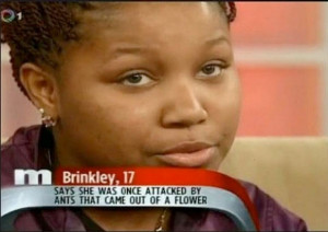 Brinkley was a guest on Maury's