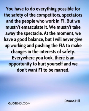 ... ~ Workplace Safety Quotes Of The Day ~ Work Safety Quote Of The Day