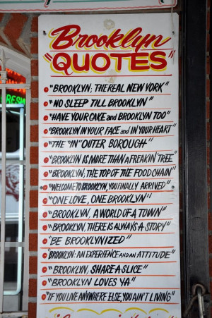 Brooklyn Sayings www.KOEventServices.Biz
