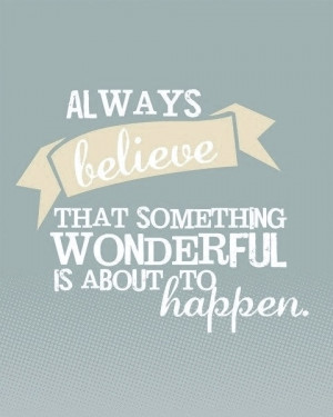 quote of the day~