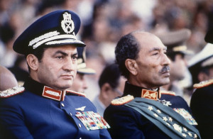 Hosni Mubarak was vice president on Oct. 6, 1981, the day when ...