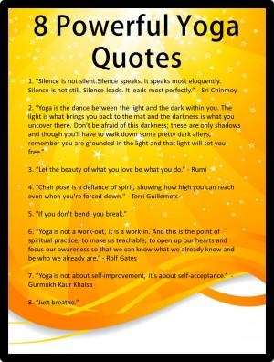 yoga inspirational quotes for teachers quotesgram