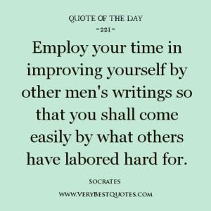 improving quotes