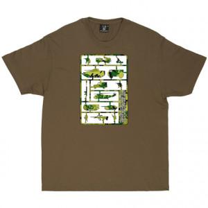 George Orwell Rough Men Quote Khaki Men's T-Shirt. People sleep ...