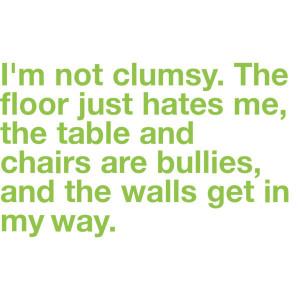 clumsy, funny, haha, lol, text