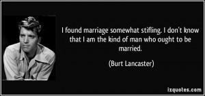 More Burt Lancaster Quotes