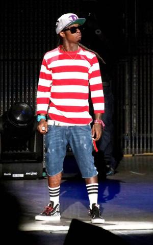 Lil Wayne Swagger Lil' wayne was seen dressed