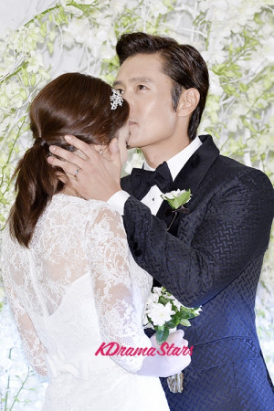 Lee Min Jung and Lee Byung Hun Wedding 2013