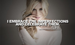 In her diction, the word ain't underscores her imperfection (either ...