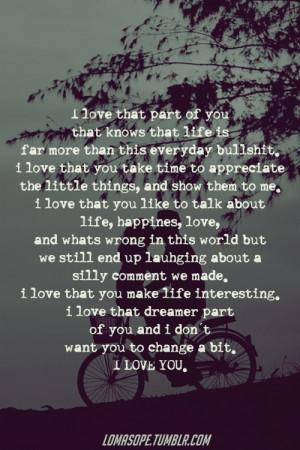... him, life, life quotes, love, quotes, things, true, true love, true