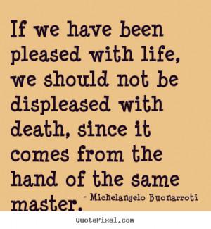 Michelangelo Buonarroti Life Diy Quote Wall Art