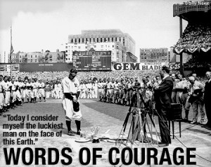 Lou Gehrig's Farewell Speech