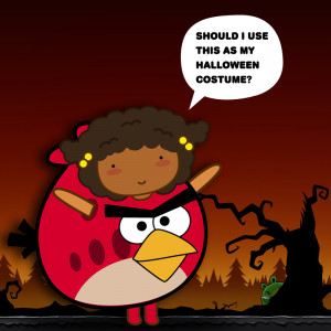 Angry Birds for Halloween costume?