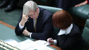 Kevin Rudd's 'out of control' on Libya issue but Julia Gillard says it ...