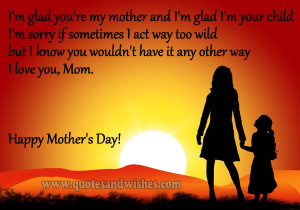 ... Mothers day wishes for mom from daughter. Mother Daughter quotes