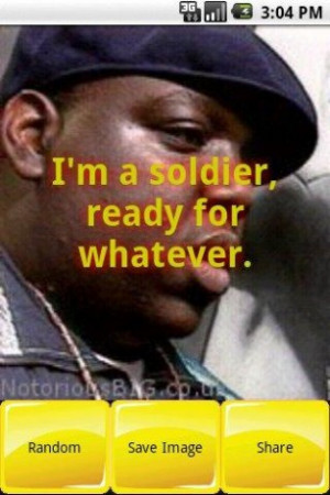 View bigger - Notorious B.I.G Quotes for Android screenshot