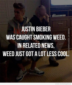 ... caught smoking weed. In related news, weed jost got a lot less cool
