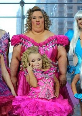 Honey Boo Boo and her mum