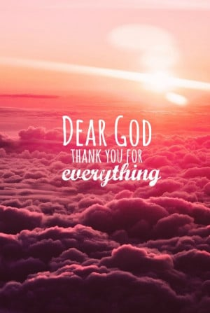 thank you quotes for god