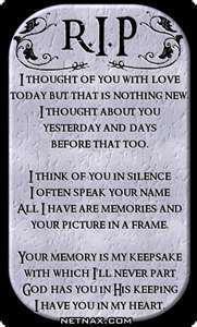 RIP, Kilo..I miss you!!