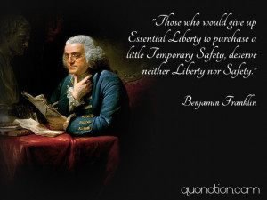 Benjamin Franklin Quotes On Liberty