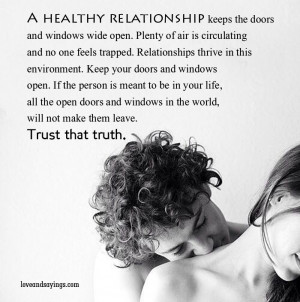 Open Relationship Quotes and Sayings