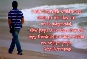 John Barrowman Quote - lgbt Fan Art