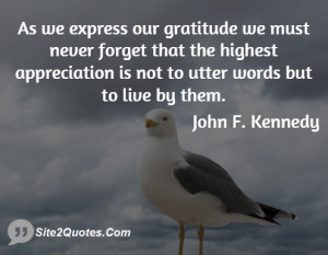 Inspirational Quotes - John F. Kennedy