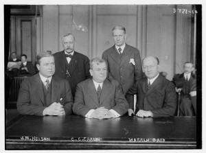 and Warren Gard in 1916 on the House Committee on the Judiciary.jpg