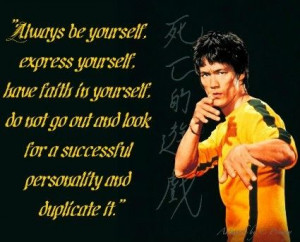 bruce lee, quotes, sayings, be yourself, inspiring, celeb