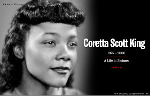 Coretta Scott King And Martin Luther King Wedding Mlk was not for gay ...