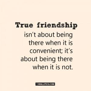 True Friendship Quote Picture