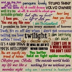 saga quotes - Via Cafe Press Twilight Obsession, The Twilight Saga ...