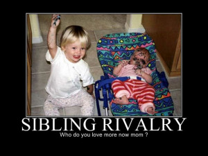 ... Off on There Can Be Only One – Funny Sibling Rivalry (35 Pictures
