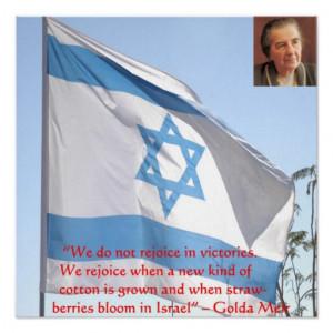 golda_meir_victories_wisdom_quote_poster ...