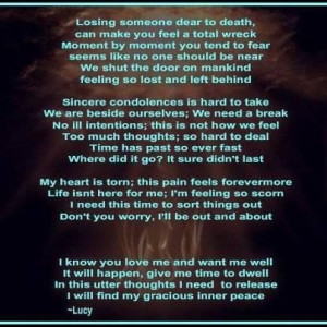 quotes about death of a loved one Quotes about death of a