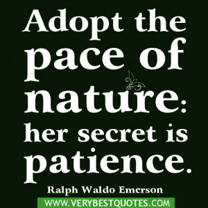 Patience Quote Quotes Nature