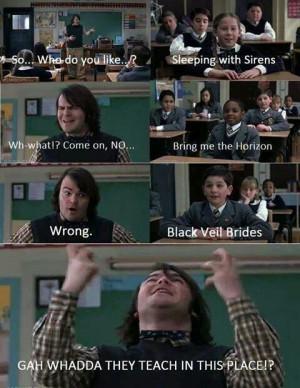 School of rock memes