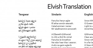 Lord Of The Rings Elvish Quotes And Translations Passing of the elves ...