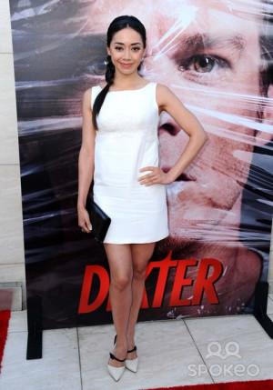 Aimee Garcia Attends Dexter