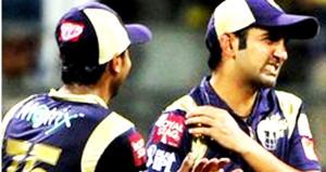 Gautam Gambhir getting injured in IPL