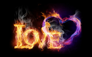 Burning love wallpapers and images