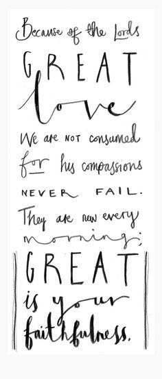 Lamentations 3:22 | best stuff