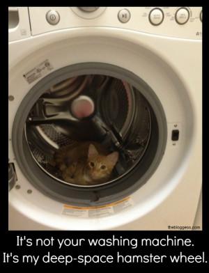 It's not your washing machine…