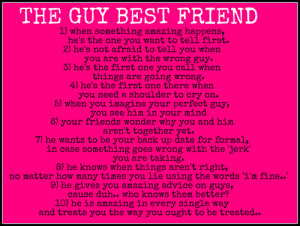 My Guy Best Friend