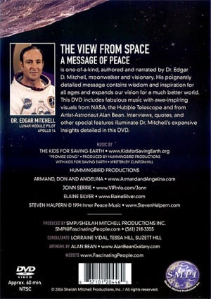 Hand Signed by Edgar Mitchell !!!